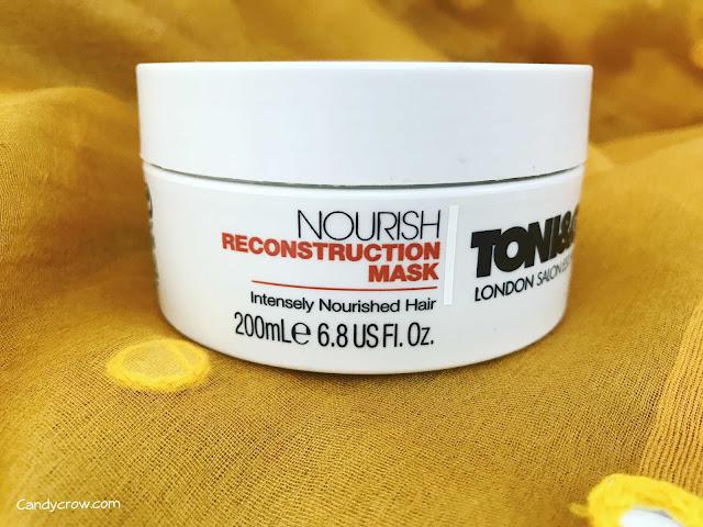 Toni & Guy Nourish Reconstruction Mask Review