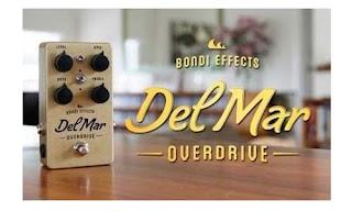 Bondi Effects Del Mar Overdirve (Pedal Efek Gitar)