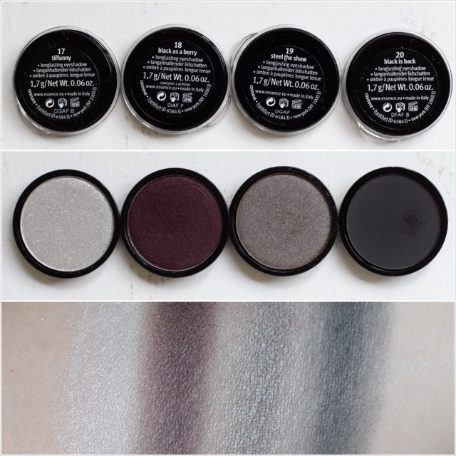 essence my must haves eyeshadow swatch