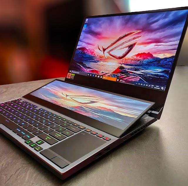 ASUS ROG Zephyrus Duo 15 Laptop : Innovative Gaming Laptop in 2020