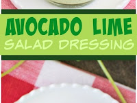 AVOCADO LIME SALAD DRESSING