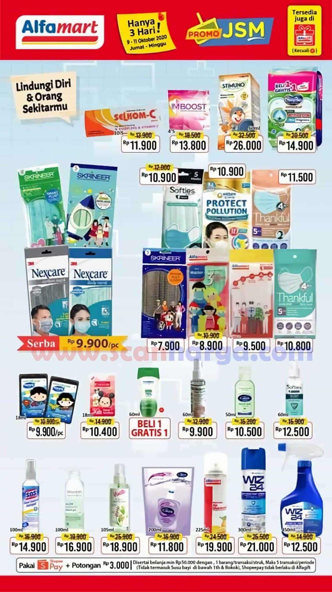 Katalog Promo JSM Alfamart Terbaru 16 - 18 Oktober 2020 ...