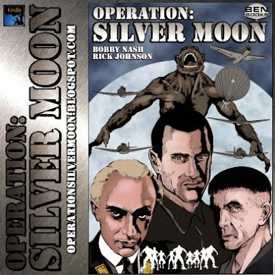 BEN Books, Bobby Nash, British Fantasy Society, comic book, Dave Brzeski, graphic novel, Lance Star: Sky Ranger, Operation: Silver Moon, reader, review, Rick Johnson,