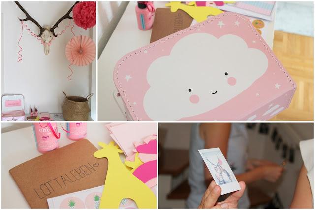Ideen Babyshower Party Maedchen Gutscheinbuch zur Geburt