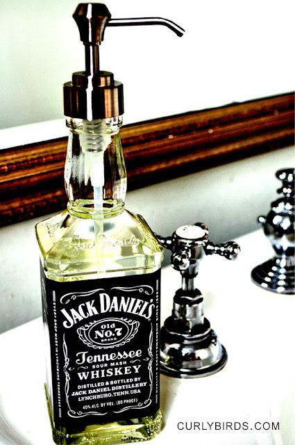 Dicas para reciclagem de garrafa de whisky