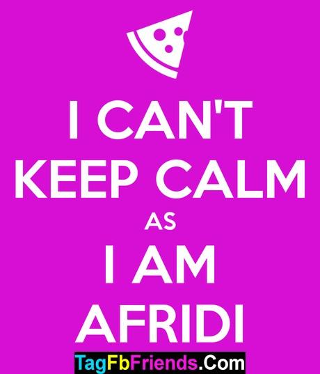 Afridi