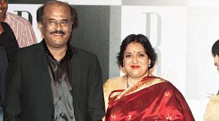 fir against rajnikanth wife