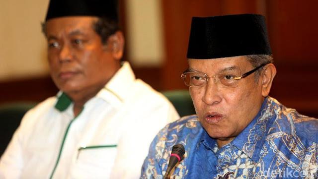 Sambut Putusan MK, KH Said Aqil: Jokowi-Kiai Ma'ruf Pemimpin Seluruh Rakyat Indonesia