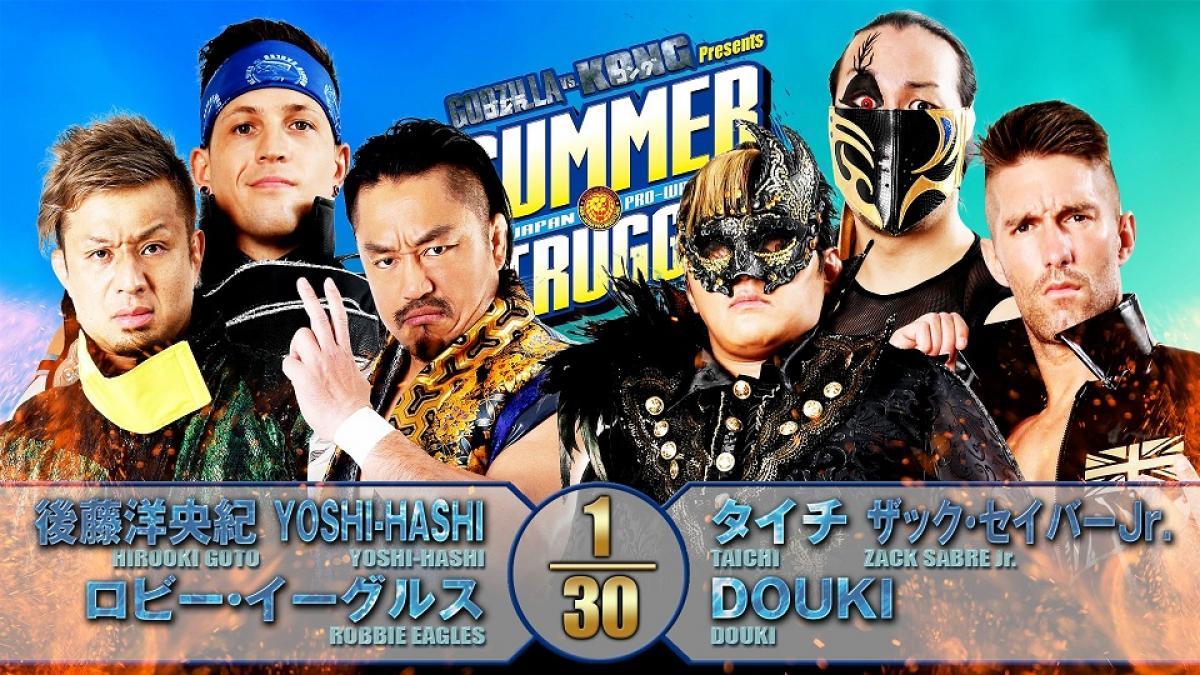 Cobertura: NJPW Summer Struggle 2021 – Day 17 – Nova era!