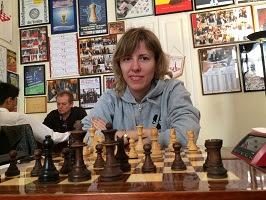 Tatiana Dornbusch au Cercle d'échecs de Monte-Carlo - Photo © Chess & Strategy