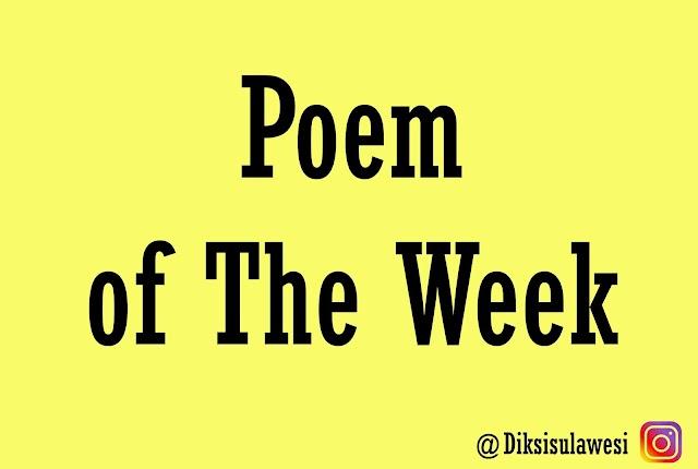 Poem of The Week #11: Senja yang Kau Kejar