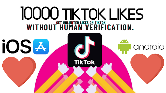 Get unlimited likes on TikTok without human verification.
