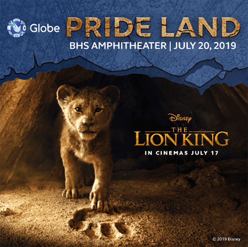 Globe announces promo for free tickets to watch Disney's Lion King
