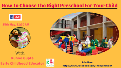 how to choose the right preschool for your child tips the k junction tuesday live fb live