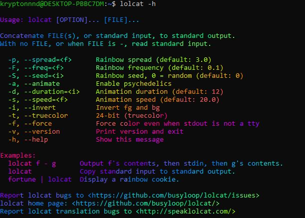 Cara Menampilkan Teks Warna Warni di Terminal Linux dengan Lolcat