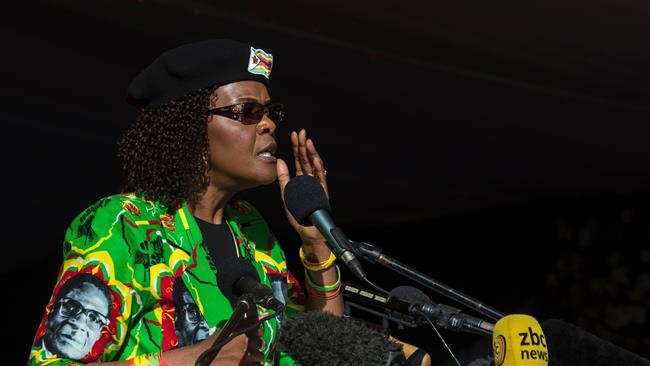 South Africa's opposition demands arrest of Zimbabwean first lady Grace Mugabe
