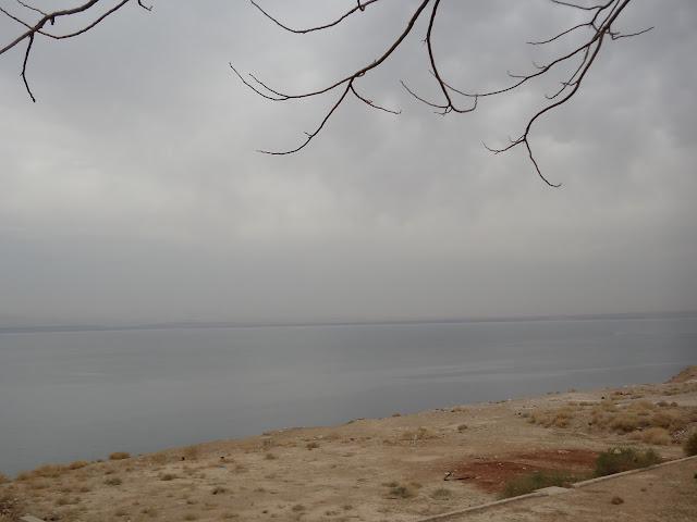 Vistas del mar Muerto