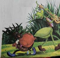 परिश्रमी चींटी की कहानी