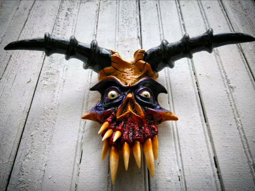 Artisan's Avenue: Wicked Wall Masks
