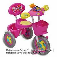 Sepeda Roda Tiga ROYAL RY101 HARIMAU dengan IC 3 Lagu