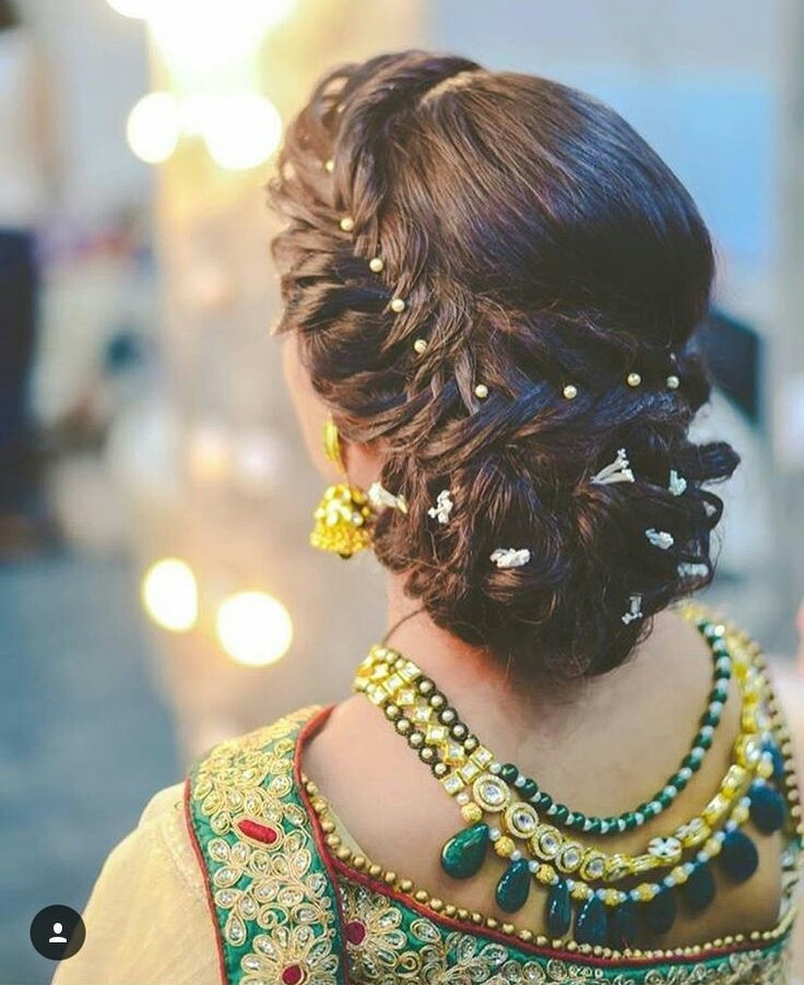 101 Indian Wedding Hairstyles For The Contemporary Bride