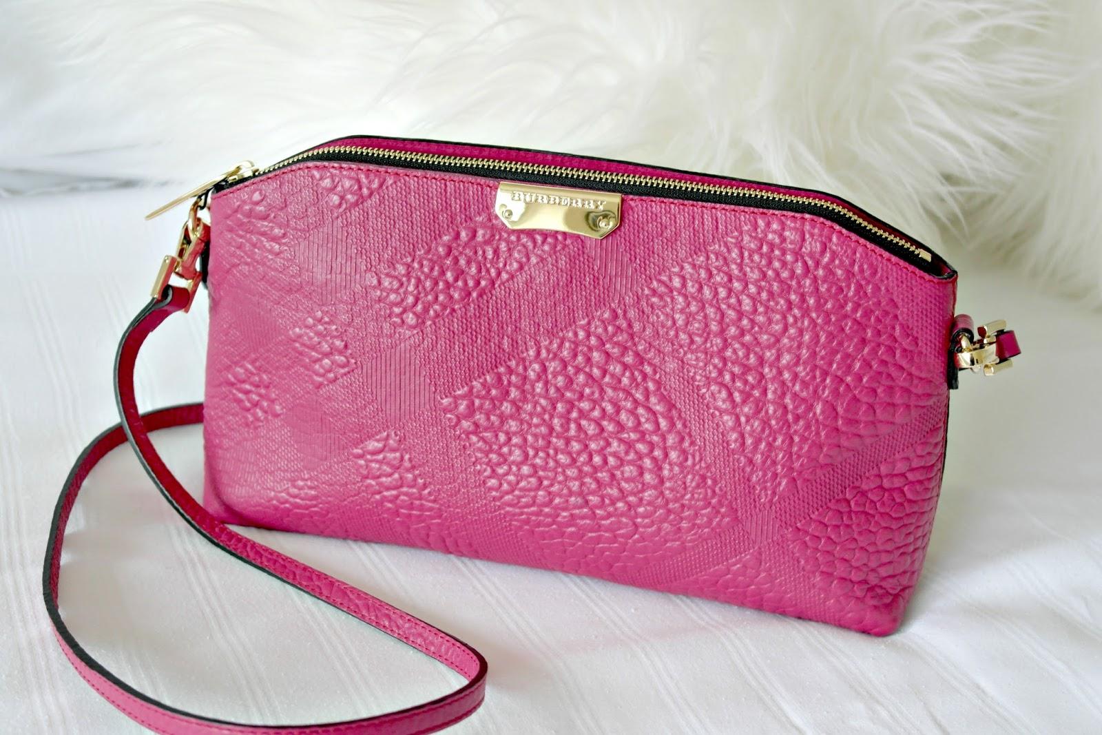 Pink Burberry Clutch Handbag - Devoted To Pink f4524aea207dd