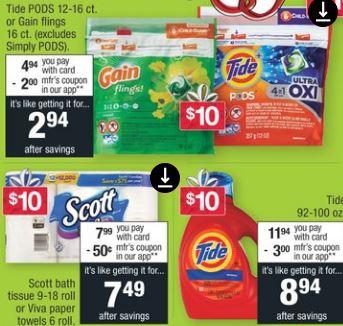 Viva Paper Towel CVS Coupon Deal $1.66 11/17-11/23