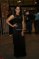 Wamiqa Gabbi in a sleeveless Black Designer Transparent Gown at 64th Jio Filmfare Awards South ~  Exclusive 097.JPG
