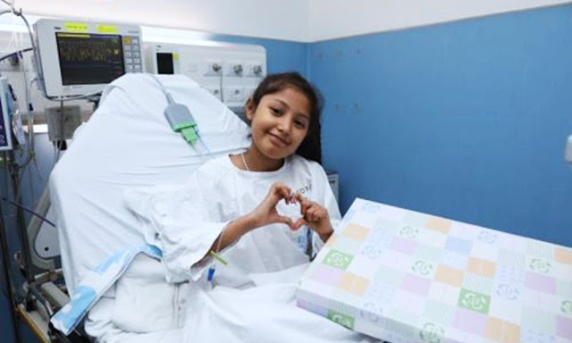 Después de varios meses de angustia, los padres de Araceli Gisele Bernuy Zelada le sacaron una sonrisa