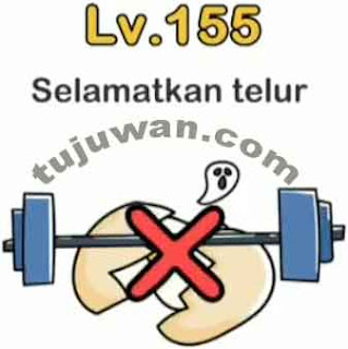 Brain Out : Selamatkan Telur Jawaban Brain Out Level 155