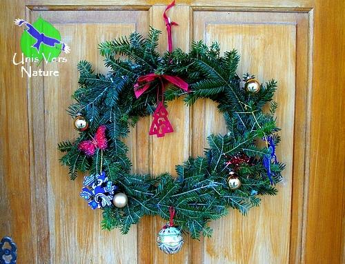 Couronne Noël Maison