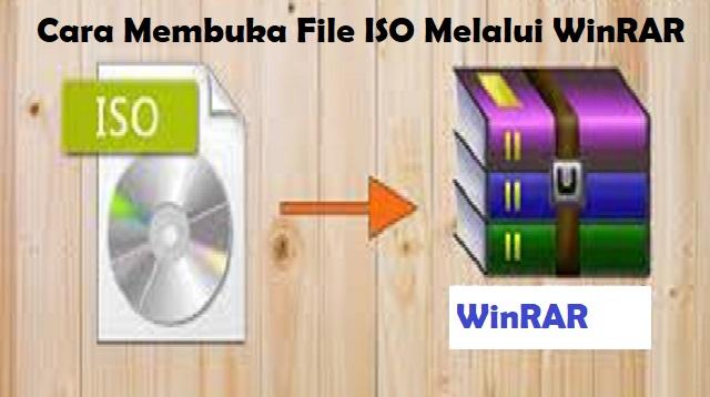 Cara Membuka File ISO