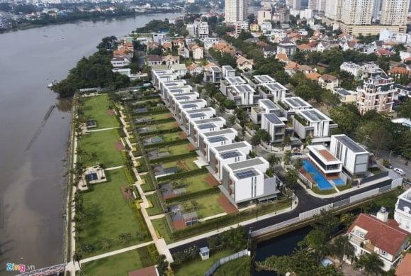 Biệt thự ở Thảo Điền bịt kín lối ra bờ sông Sài Gòn ảnh 2