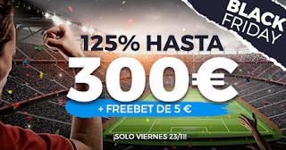 Paston Bono de Bienvenida 300€ +freebet 5€ gratis Black Friday 23 noviembre