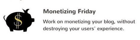 Monetizing Friday