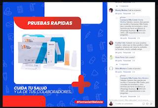 Farmacia en Barahona promueve venta de prueba rápida para COVID-19 pese a estar prohibido por SP