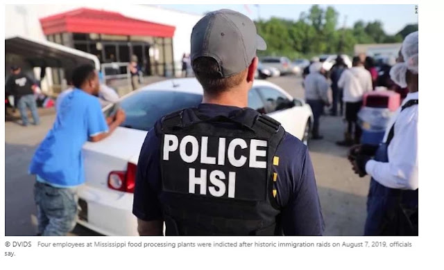 Four supervisors at Mississippi food plants prosecuted on migration-related charges one year