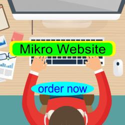 Jasa Pembuatan Mikro Website