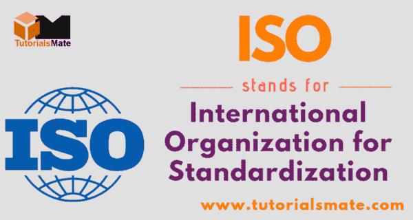 ISO Full Form