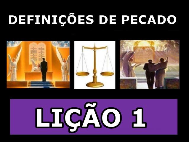 DEFINICOES DE PECADO 1