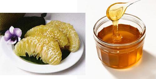 Cách giảm cân bằng nước ép bưởi mật ong đơn giản
