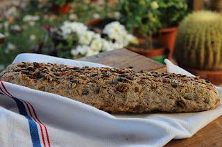 Pan integral de 7 cereales casero