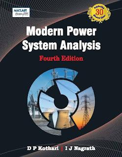 Download Modern Power System Analysis by D P Kothari I J Nagrath Pdf