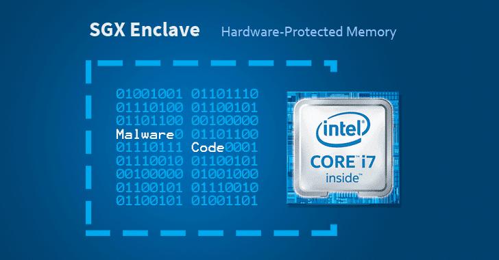 intel sgx malware hacking