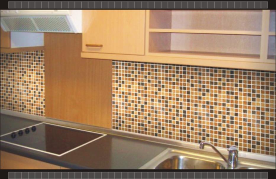 motif keramik yang cocok untuk dapur minimalis