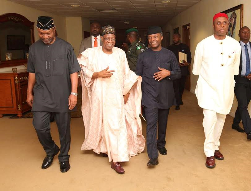 Photos: Vice President Osinbajo attends Presidential Quarterly Business Forum