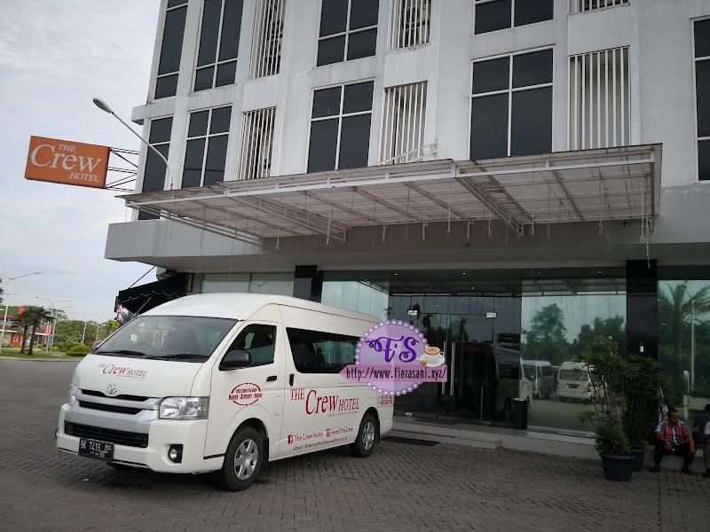 Medan Trip - Day 1 (Hotel The Crew dan Pakej Murah)
