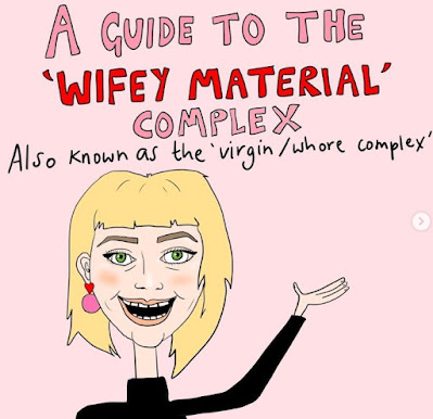 The Wifey Material Complex by Vulga Drawings