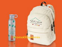Logo Taste The Alps: vinci gratis 15 kit con zaino e borraccia