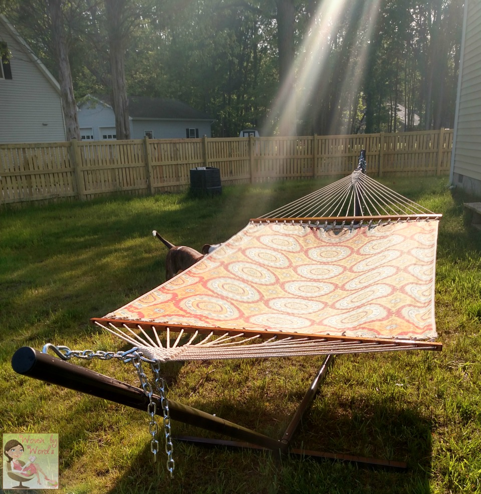 woven by words a hammock for summer from dfohome com
